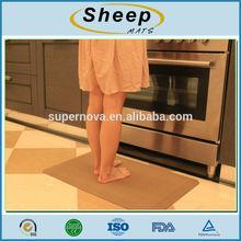 Anti-fatigue decorative PU Kitchen Floor Mats