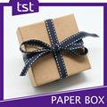 Atacado reciclado Kraft caixa de presente de papel