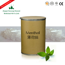 Jiangxi Xuesong competitive price High qualtity CAS NO.2216-51-5 natural Menthol Price