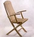 mobilier moderne en bois chaise de patio en bois