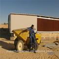 ventilador de ventilación y sistema de refrigeración almohadilla para la granja de pollos
