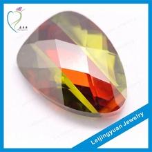 colorful trillion rough cubic zirconia gemstones wholesale China