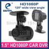 Car DVR C600, super min car dashcam 720 solution, IR light Night Vision 1.5 inch Screen Black Box Car 120 Degree