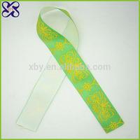 Fashion ribbon headbands cheap 4 inch satin ribbon