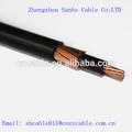xlpe aislado de cobre concéntrico cable