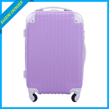 Purple Color Carrying Trolley Luggage For Holiday Travel