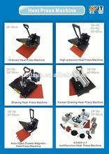Hot in Peru, tshirt printing heat press machine for T-shirt/2d phone case/metal sheet/mouse pad