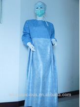 disposable sms surgical gown for urinary operation