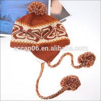 fashion ladies knit cap