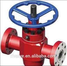API 6A Gate Valve Oil Drilling Equipment