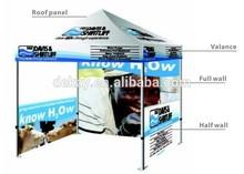 10x10ft pop up hexagonal aluminum frame gazebo/3x3m advertising pop up canopy tent