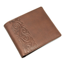 WL-273 Custom Genuine cow leather wallet for men