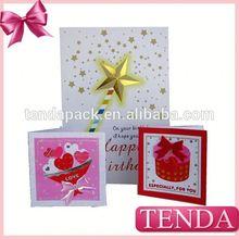 Popular music greeting card invitation cards