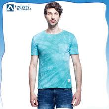 dye design clothes tie dye t shirts wholesale china dye t-shirt pocket