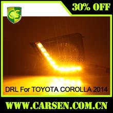 Toyota Corolla 2014 LED Daytime running light /Car Parts LED DRL Light/Toyota Corolla Auto Accessories