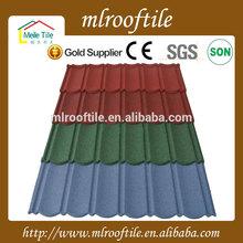 easy installation sky blue metallic roofing tiles