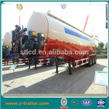 Chinês reboquesdocaminhão amplamente utilizado tri- eixo de cimento a granel cisterna reboquesdocaminhão para venda