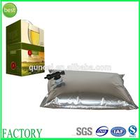 Hot sale food packaging aluminum plastic bags for liquid