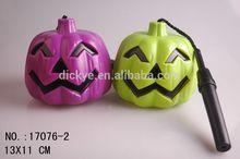 2014 hot sale promotion gifts plastic Halloween pumpkins wholesale