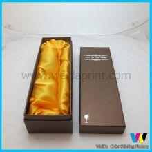 decorative wine box cover,cosetime folding wine boxes