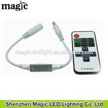 single color led strip controller mini led Dimmer