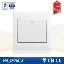 N6 Series Wall Switch 1 Gang 1 way/ 1 Gang 2 way