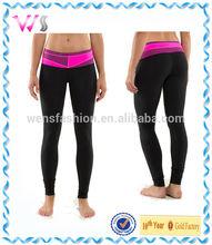 womens full lenght 95% polyester 5% spandex yoga pants fitness leggings