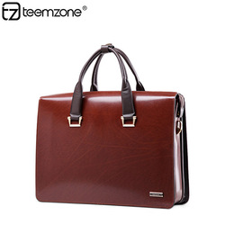 2015 Wholesale Men's Nice Imported Genuine Leather Laptop Bag