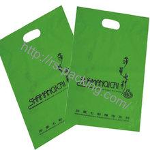 2014 fashion White Printing cloth shopping bag