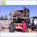 1.5 ton/saat, 2t/h paslanmaz çelik tavuk ayağı temizleme makinesi sonra soyma tavuk ayağı