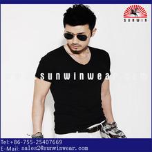 Fashion clothing design bamboo fabric men's bodybuilding t-shirts