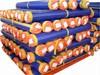 Hot sale blue orange PE tarpaulin roll
