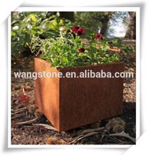 Wholesale Garden Flower Pot Metal Decoration