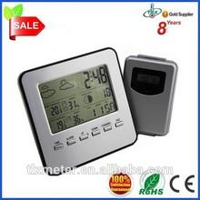 Multifunction LCD Digital wireless weather forecast station clock S008B