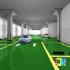 two component indoor epoxy floor paint Weathering Resistant Floor Paint anti slip floor epoxy coating