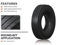 all steel truck and bus tire with high performance