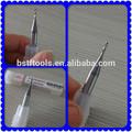 alta precisão 2 flautas 2mm torção brocas para perfuração de granito e pedra