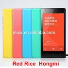 original XIAOMI Red MI/ Hongmi/Red Rice Mobile Phone Quad Core 1.5Ghz 1GB RAM 4GB ROM 4.7'' IPS HD wcdma Dual SIM