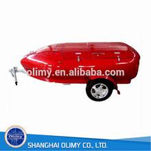 olimy hand lay up processo trailer in fibra di vetro corpo per la vendita