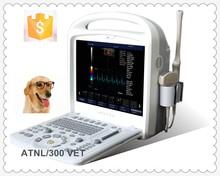 ATNL/300 VET full digital laptop vet color doppler ultrasound equipments