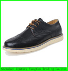 2014 hot sale men leather breathable shoes summer leather men shoes