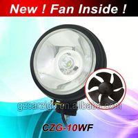 5 inch led work light black angel eye projector headlights