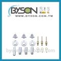 Zinco kit55005/aço/plástico/bronze sayco reparação e fornecer peças de itens acessórios de encaixe de fixação do chuveiro reconstruir kit