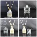 150 ml fosco garrafa de vidro quadrado como aroma cana difusor decorativo de cristal aromaterapia casa purificadores de ar por atacado