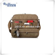 Eco Quality Muliti-function Canvas Men's Bag Travel Bag Messenger Bag Wholesale