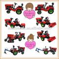 quatro rodas mini fazenda kubota tractores