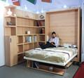 Folding cama de parede, escondida parede cama, murphy cama sofa com