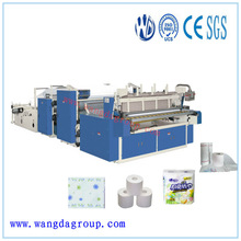 PLC Program Control High Speed Automatic Toilet Paper Complete Machine