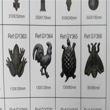 manufacturer cast iron animal