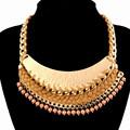 De tenis de mesa collar, shamrock collar, brasileña de joyas de oro